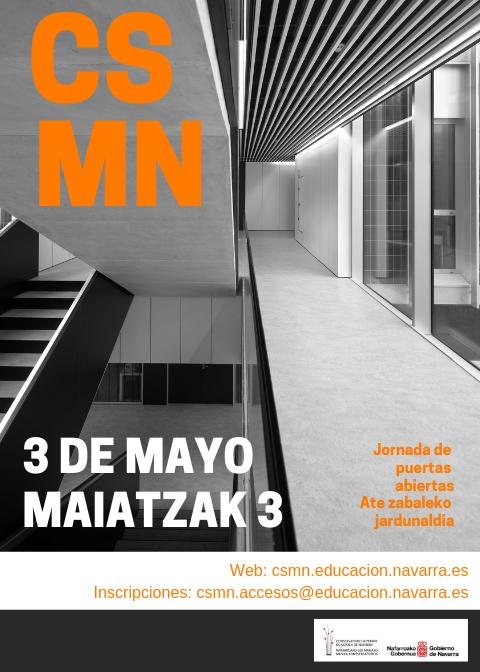 Adolphesax.com Marzo 2019 Puertas abiertas CSMN 1