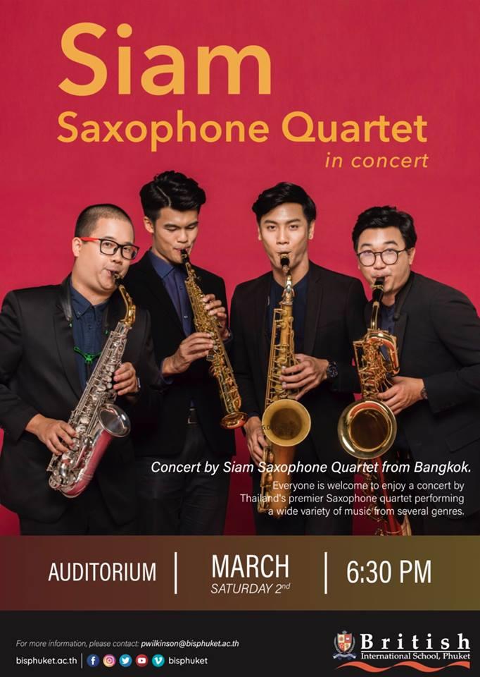Adolphesax.com Marzo 2019 Siam QUartet
