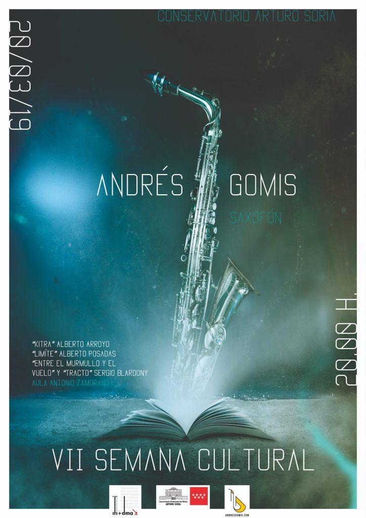 Adolphesax.com Marzo 2019 Andres Gomis Arturo Soria