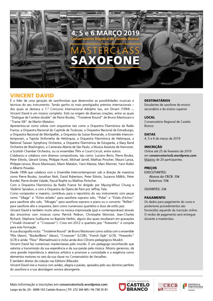 Adolphesax.com vincent david folheto