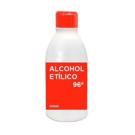 alcohol etilico 96 antiseptico cutaneo 250ml