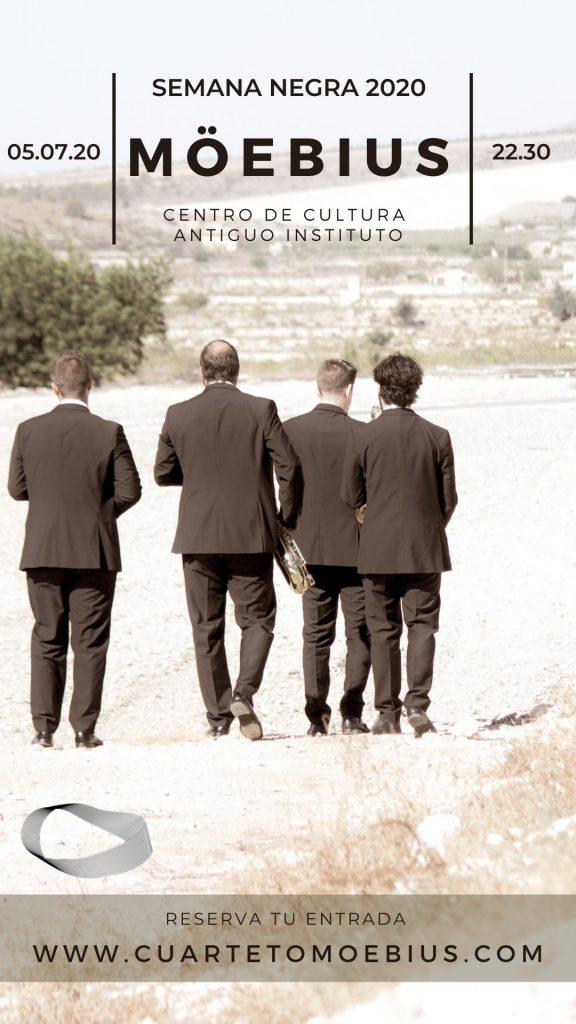 Cuarteto Moebuis Julio 2020