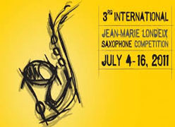 3rd JEAN MARIE LONDEIX INTERNATIONAL SAXOPHONE COMPETITION (Bangkok 2011)
