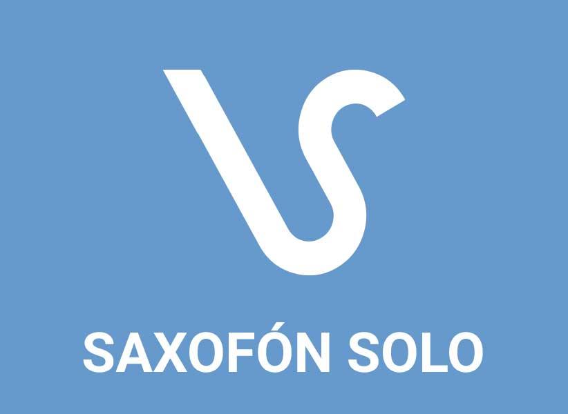Saxofón solo / Solo saxophone