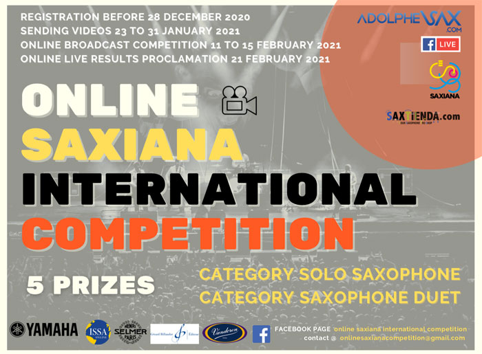 Online Saxiana International Competition 2020