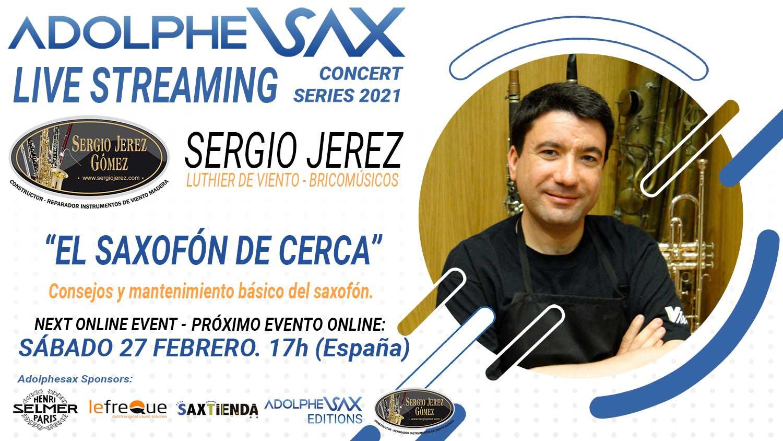 Adolphesax Concert Series Sergio Jerez