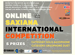 Saxiana-Adolphesax Online SOLO competition 2021