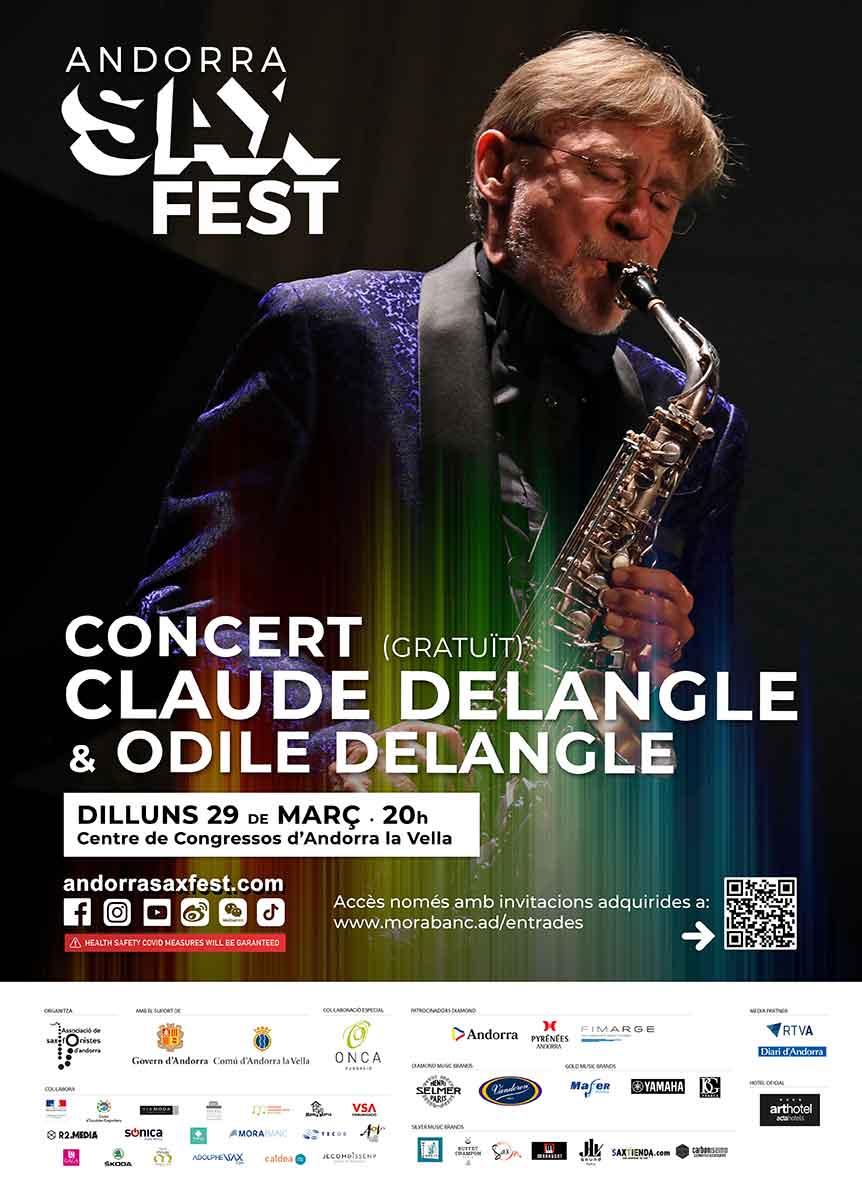 Claude Delangle concert