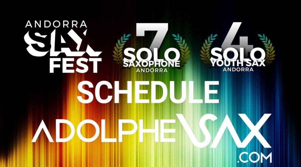 Andorra Sax Fest Schedule