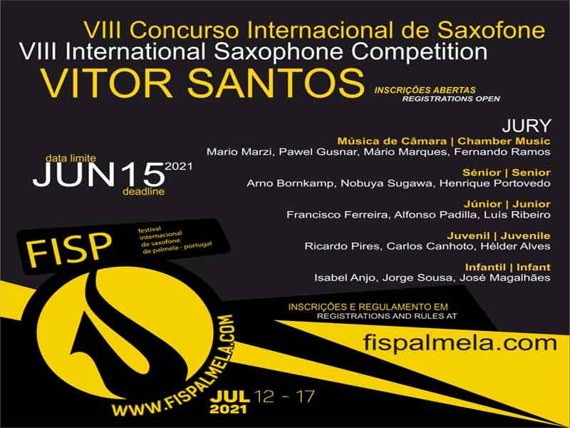 "VIII CONCURSO INTERNACIONAL ""VITOR SANTOS"" 2021"